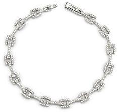 Bloomingdale's Diamond Link Bracelet in 14K White Gold, 1.50 ct. t.w.