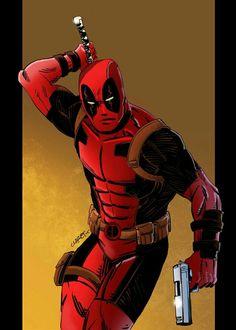 #Deadpool #Fan #Art. (Time to make some chimi changas) By: Comic-Eeb. ÅWESOMENESS!!!™ ÅÅÅ+
