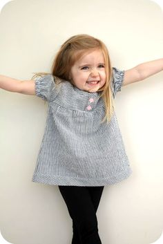 cute little seer sucker top  Lots of clothing tutes. Also Barbie doll clothes patterns on tutorials