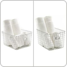 Spectrum's chrome wire locker basket is an organizational solution with a modern appeal in design. This metal basket is ideal for home organization, such as bathroom necessities or in closets. This wire bin is constructed of sturdy chrome plated steel and will provide durability along with stable storage support.