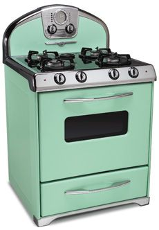 Northstar Range Colors: custom retro stoves My next kitchen will have one of these.