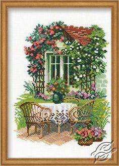 The Garden - Cross Stitch Kits by RIOLIS - 1003