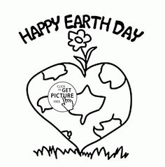 lovely and healthy planet earth day coloring page for kids coloring pages printables free