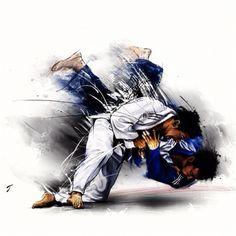 #judo #draw #sport art-sport