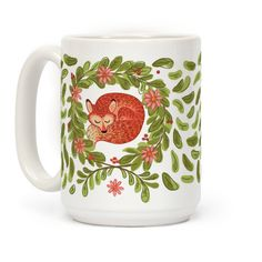 This cute indie hippie coffee mug is perfect for sleeping through the day, going out for a night at a little music show, brightening up cold snowy days or celebrating warm spring ones.