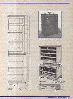 CONSTRUYA ESTE JUEGO DE CUARTO ESTILO COLONIAL NOVIEMBRE 1970 003 copia