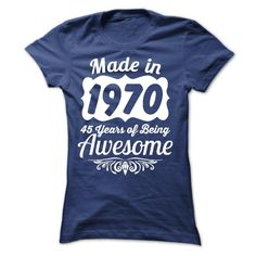 1970 Awesome Hoodie