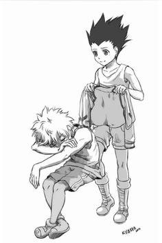 Killua and Gon | Killugon        ~Hunter X Hunter