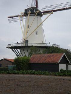 #Windmill - #molen van koudekerke (walcheren)   #Zeeland op foto - http://dennisharper.lnf.com/