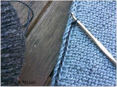 ... sie sind praktisch, chic und im Herbst und Winter mein täglicher Begleiter. Am liebsten stricke ich sie ohne Muster, einfach kraus recht...