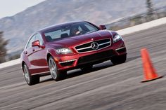 2012 Mercedes-Benz CLS63 AMG at the track