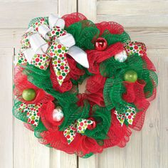 DIY City Sidewalks Ornament Mesh Wreath In Store Holiday Pinterest Party November 15, 2014 1pm - 4pm