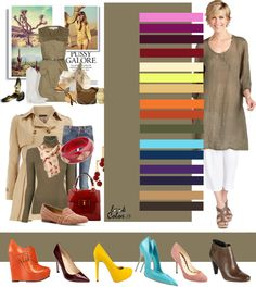 Taupe: shoe colour match