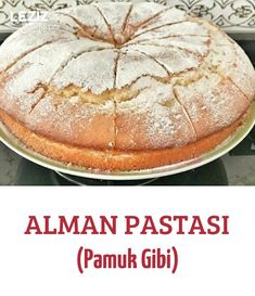 German Cake (Like Cotton) - My Delicious Food- Alman Pastası (Pamuk Gibi) – Leziz Yemeklerim German Cake (Like Cotton) - Keto Desserts, Delicious Desserts, Dessert Recipes, Yummy Food, German Cake, B Food, Pastry Cake, Turkish Recipes, Gastronomia