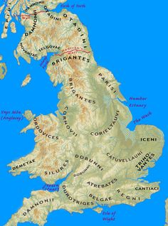 Iron Age Tribes of Southern Britain – Interactive Map – HeritageDaily – Heritage & Archaeology News