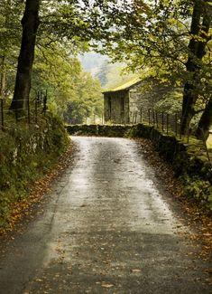 "pagewoman: ""Stone Barn, nr Ambleside, Cumbria, England by Dave John """