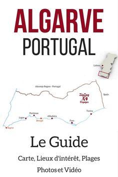 Pin Que faire en Algarve Portugal - Visiter Algarve Portugal - Algarve Plages - Algarve lieux d interet