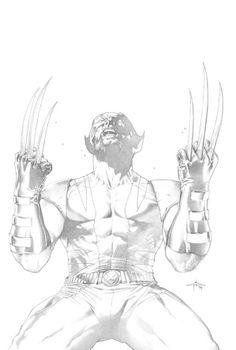 Wolverine by Gabriele Dell'Otto *
