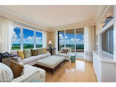 8930 BAY COLONY #1004, Naples, FL 34108 - I'm not sure if you'd want to watch TV or the view.  Salerno at Bay Colony