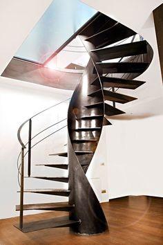 Винтовая лестница ETIKA by OFFICINE SANDRINI