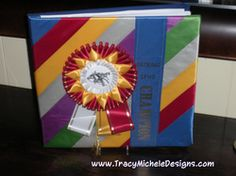 Good idea to cover the scrapbook I've been making from all my horse riding since I was a kid