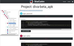 StaCoAn v0.80 release: static code analysis on mobile applications for developers, bugbounty hunters and ethical hackers
