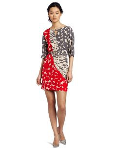 Yoana Baraschi Women's Feather Dot Art Patch Dress http://click-this-info.tk/YoanaBaraschi