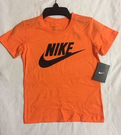 e2741b5fc Nike Short Sleeved Shirt Orange, Black, Size 6, 7, Kids Youth $15 Summer  (CR)