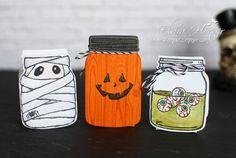 Halloween Goodies - Stempelset Jar of Haunts - Stampin Up