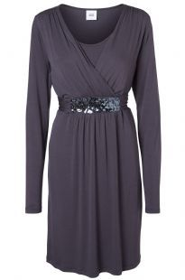 Claudy Tess Special Occasion Races Wedding Maternity & Nursing Dress Squinned Nine Iron
