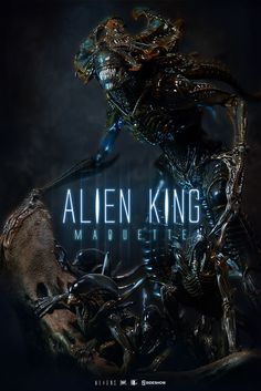 Alien Alien King Maquette by Sideshow Collectibles