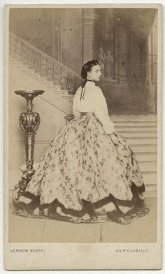 Queen Alexandra, by Vernon Heath, 1863 - NPG x135353 - © National Portrait Gallery, London