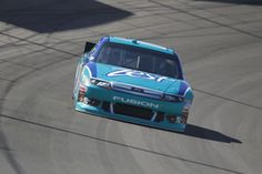 Matt Kenseth in the Zest Ford Fusion at Las Vegas.