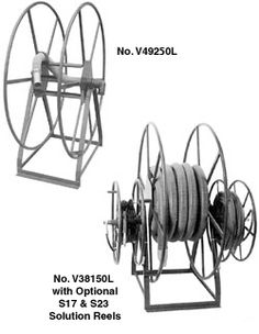 Live Reels for Carpet Cleaning - Dultmeier Sales Extractor Tool, Hose Reel, Cleaning Equipment