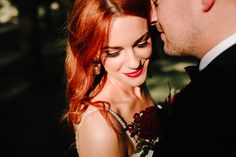 Seànna - a flame haired beauty. How amazing is her hair? Black Tie Suit, Ireland Wedding, Beaded Gown, Donegal, Photography Portfolio, Absolutely Stunning, Beautiful Day, Got Married, Her Hair