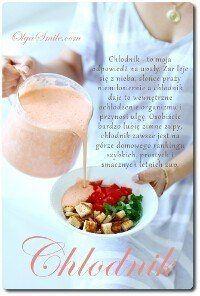 Chlodnik Przepis Olga Smile Soup Recipes Soups And Stews