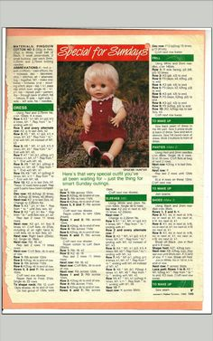 Knitting Dolls Clothes, Baby Doll Clothes, Crochet Doll Clothes, Knitted Dolls, Baby Cardigan Knitting Pattern Free, Baby Knitting, Crochet Dolls Free Patterns, Barbie Clothes Patterns, Stuffed Toys Patterns