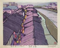 Ronin Gallery: Ponto-cho and Kamo River
