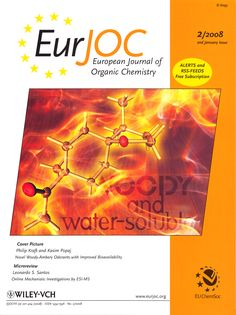Philip Kraft, Kasim Popaj, Unexpected Tethering in the Synthesis of Methyl-Substituted Novel Woody-Ambery Odorants with Improved Bioavailability, Eur. Organic Chemistry, Cover Pics, Woody, Novels, Fiction, Woody Allen Quotes, Romance Novels