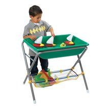 Sand and Water Activity Tubs and Stand Sand And Water Table, Sand Table, Water Tub, Water Play, Discount School Supply, Sensory Table, Play Centre, Water Activities, Wheelbarrow