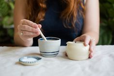 Afternoon Tea | with handmade ceramics