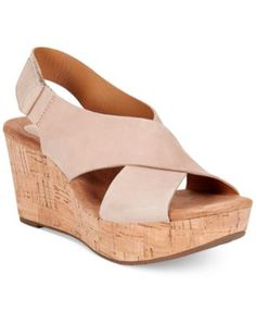 Clarks Artisan Women's Caslynn Shae Platform Wedge Sandals   macys.com