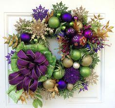 Disney Mickey Mouse Christmas Wreath by SparkleForYourCastle, $189.00
