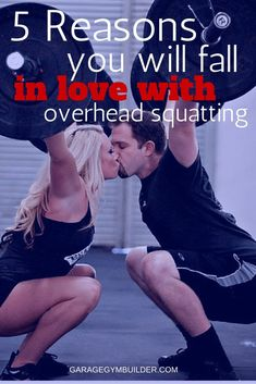5 Reasons You Should Start Overhead Squatting Best Workout Plan, Workout Guide, Workout Videos, Weight Lifting Workouts, Weight Training, Fun Workouts, Training Workouts, Fitness Workouts, Training Tips