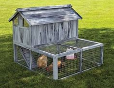 FARM PRODUCTS - HEN HAVEN CHICKEN COOP - 56 x 28.4 x 7.5 inches - MIDWEST METAL PRODUCTS CO., - UPC: 27773019732 - DEPT: HORSE PRODUCTS/FARM PRODUCTS
