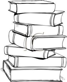 stacked books clipart clip art books black and white bible rh pinterest com black and white comic book clipart read book clipart black and white