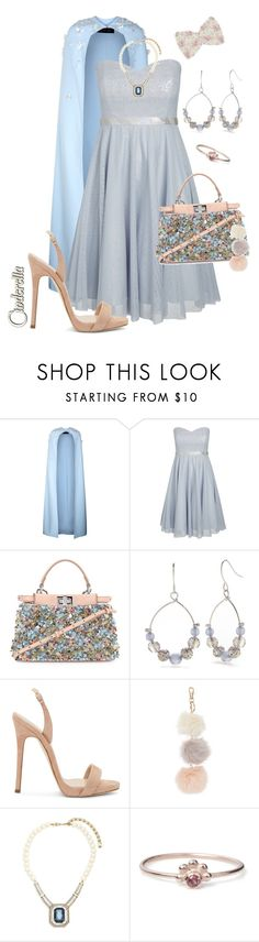 """°•»TOP SET«•° Embellished Bag 💎👛👑"" by krgood7 ❤ liked on Polyvore featuring Safiyaa, City Chic, Fendi, Kim Rogers, Giuseppe Zanotti, Heidi Daus, Maro and plus size dresses"