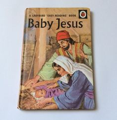 Vintage Ladybird Book, Baby Jesus, Easy Reading Series, 1970 Series 606A, Gift for him, Gift for her, Christmas Gift by VintagePurpleCrafts on Etsy