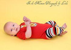 Red Plaid Baby Boy Tie Onesie and matching leg by WeChooseJoy, $22.50