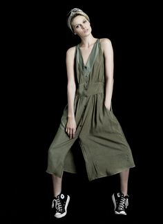 WILLOW DRESS In washed silk/cotton ( Pewter, Honey, Black) Light and cool with pockets.   Adjust the height of the slit with shell button front closure.   A wash and wear easy summer dress for everyday or dressed up for an event.(shown in Pewter)  Silk/Cotton Blend Light & Cool Easy & Elegant Made in NYC  http://www.hengstnyc.com/collections/hengst/products/willow-dress